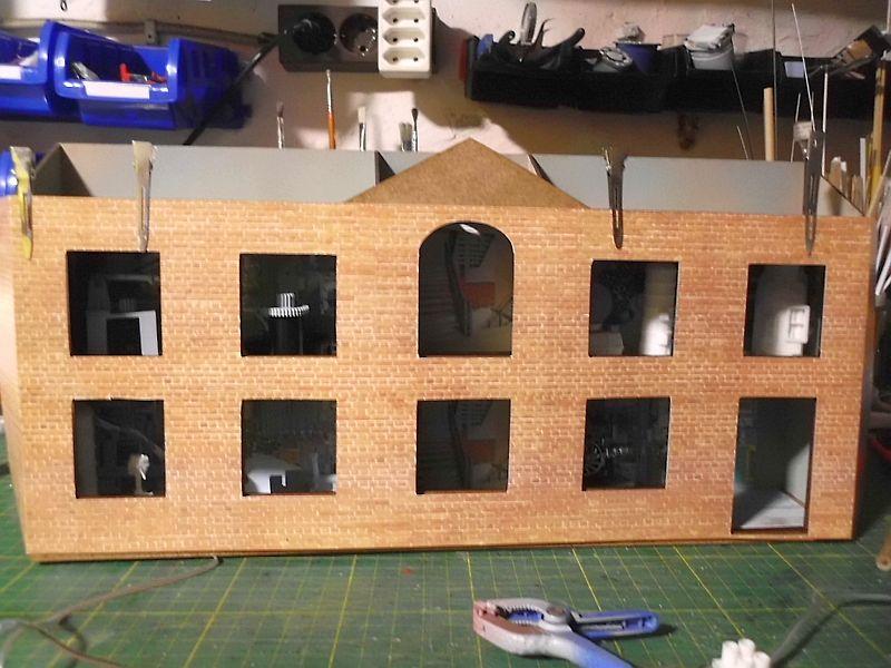 FPM - Models - Fabrikhallenkulisse - Lasercut-Bausatz in 1/45 Dsci0774