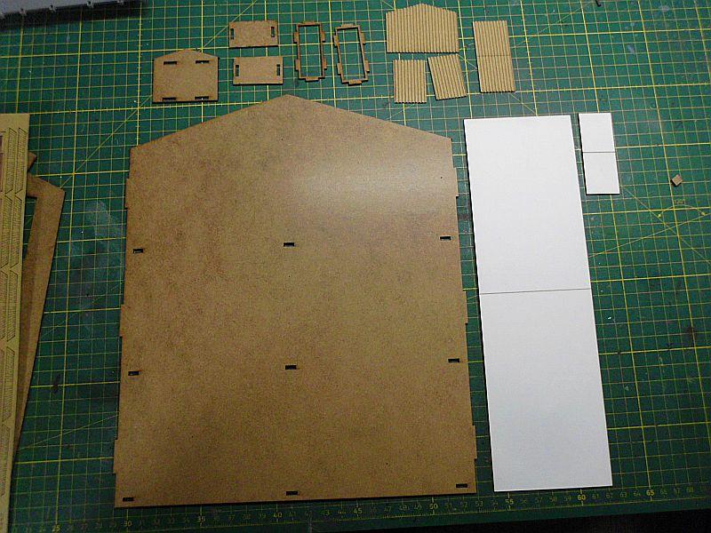 FPM - Models - Lagerhallenkulisse - Lasercut-Bausatz in 1/45 Dsci0818
