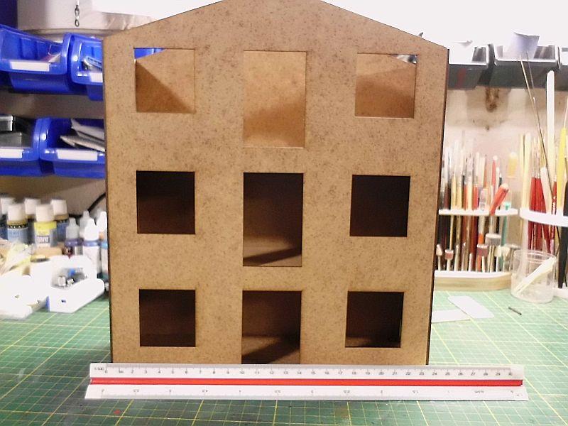 FPM - Models - Lagerhallenkulisse - Lasercut-Bausatz in 1/45 Dsci0822