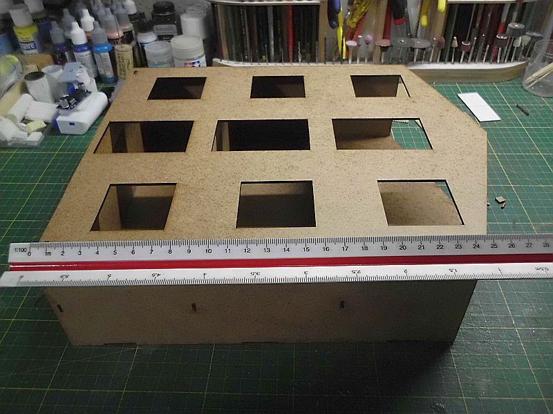 FPM - Models - Lagerhallenkulisse - Lasercut-Bausatz in 1/45 Dsci0824