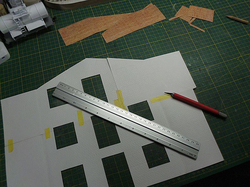 FPM - Models - Lagerhallenkulisse - Lasercut-Bausatz in 1/45 Dsci0829