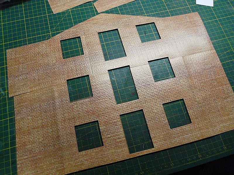 FPM - Models - Lagerhallenkulisse - Lasercut-Bausatz in 1/45 Dsci0830
