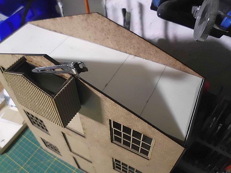 FPM - Models - Lagerhallenkulisse - Lasercut-Bausatz in 1/45 Dsci0842