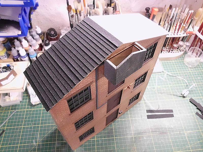 FPM - Models - Lagerhallenkulisse - Lasercut-Bausatz in 1/45 Dsci0860