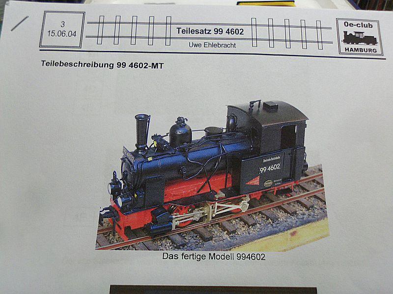 EMW - Dampflok ähnl. 99 4602 in 1/45 auf Basis MagicTrain = 0e Baubericht Dsci1033