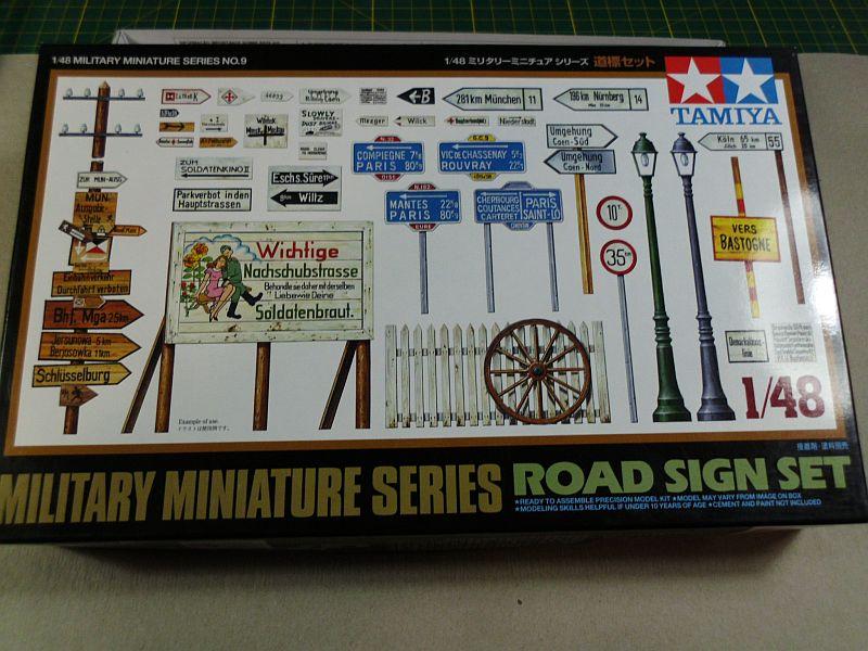 Tamiya - Road Signs 1/48 - Vorstellung F10