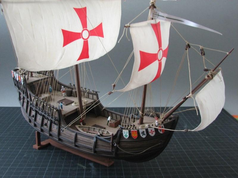 Columbus Ship Santa Maria [Revell] Img_1810