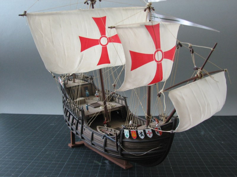 Columbus Ship Santa Maria [Revell] Img_1811