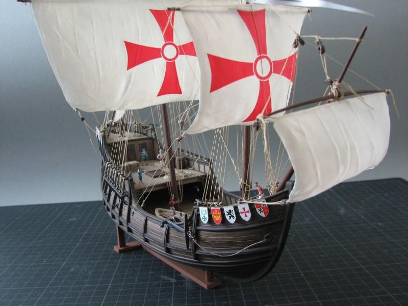 Columbus Ship Santa Maria [Revell] Img_1812