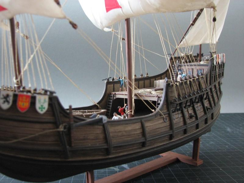 Columbus Ship Santa Maria [Revell] Img_1814