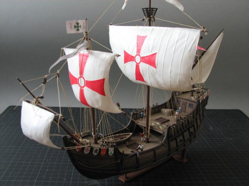Columbus Ship Santa Maria [Revell] Img_1815
