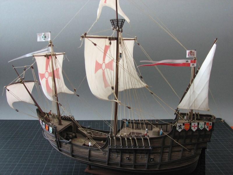 Columbus Ship Santa Maria [Revell] Img_1816