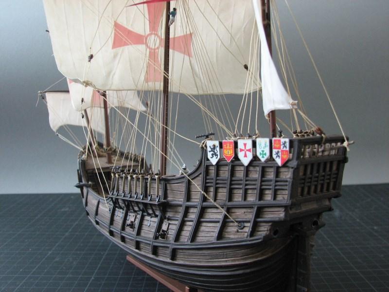 Columbus Ship Santa Maria [Revell] Img_1817