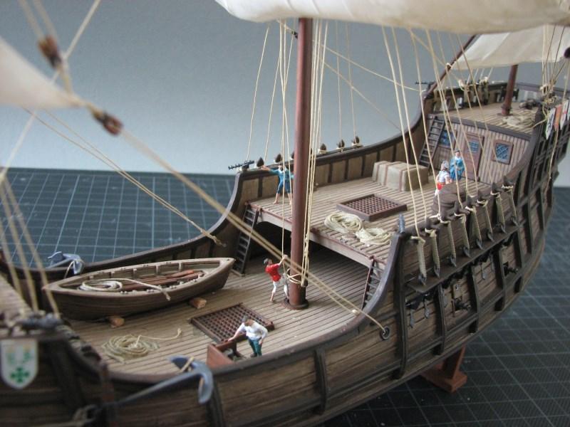 Columbus Ship Santa Maria [Revell] Img_1818