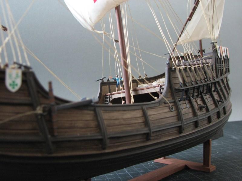 Columbus Ship Santa Maria [Revell] Img_1819