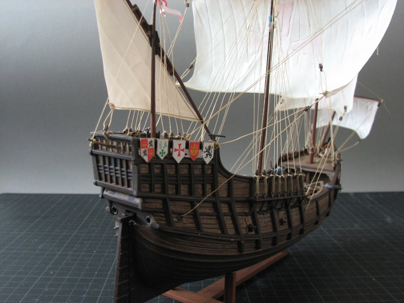 Columbus Ship Santa Maria [Revell] Img_1820