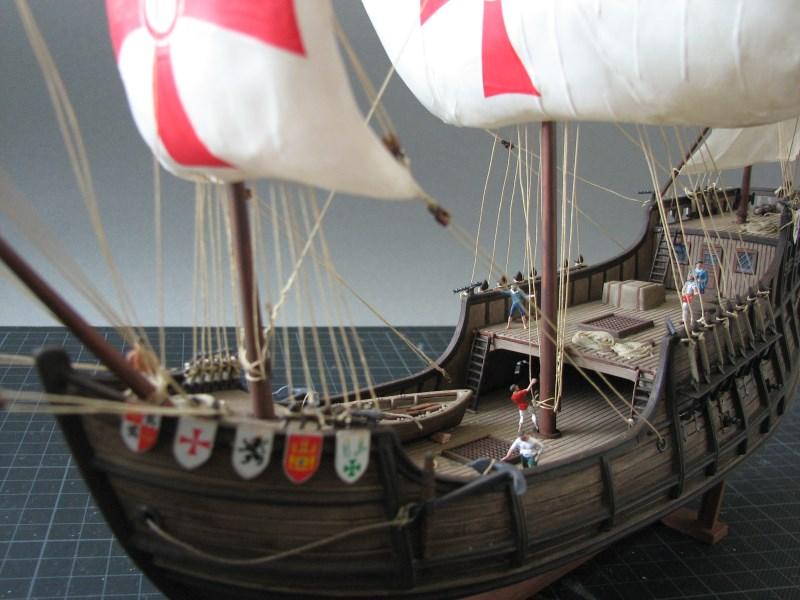 Columbus Ship Santa Maria [Revell] Img_1821
