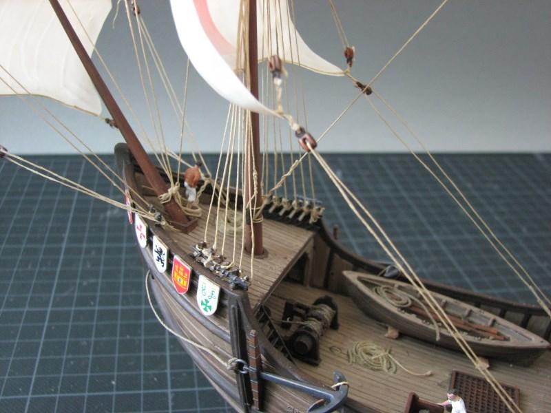 Columbus Ship Santa Maria [Revell] Img_1822