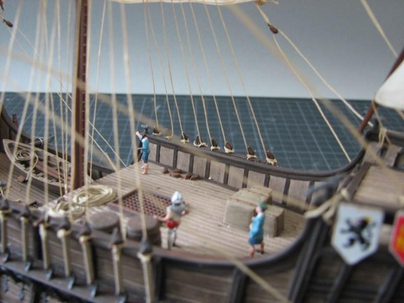 Columbus Ship Santa Maria [Revell] Img_1823