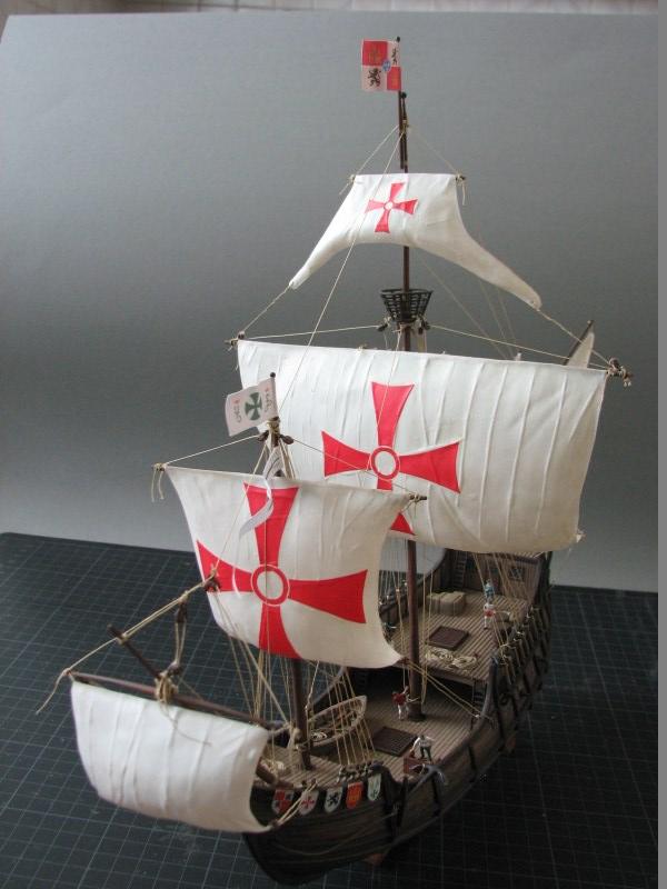 Columbus Ship Santa Maria [Revell] Img_1824