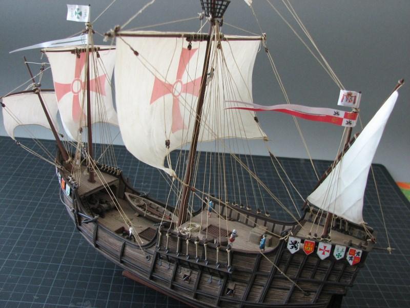 Columbus Ship Santa Maria [Revell] Img_1825