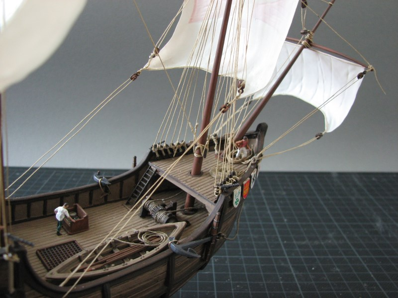 Columbus Ship Santa Maria [Revell] Img_1826