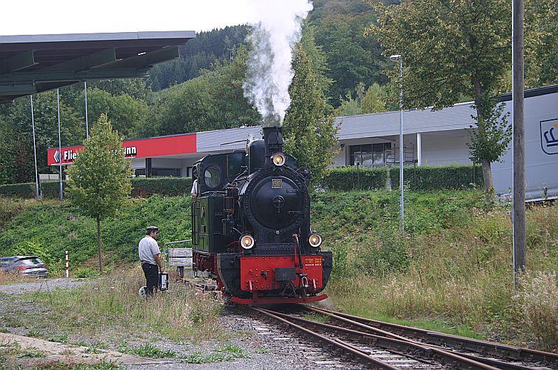 Dampftag bei der Sauerländer Kleinbahn in Herscheid am 02.09.18 Img_7765