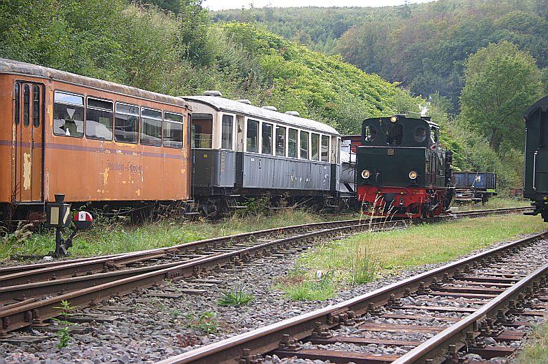 Dampftag bei der Sauerländer Kleinbahn in Herscheid am 02.09.18 Img_7834