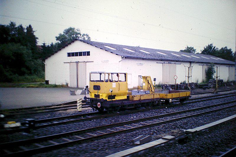 Der SKL - Der Rottenkraftwagen bei den Deutschen Bahnen Klv_5310