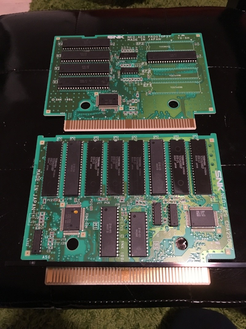 Photos plaques jeux AES Kizuna10