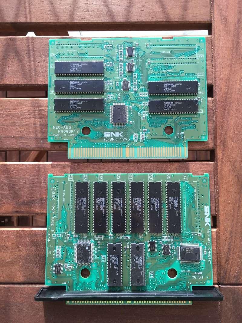 Photos plaques jeux AES Shock_10