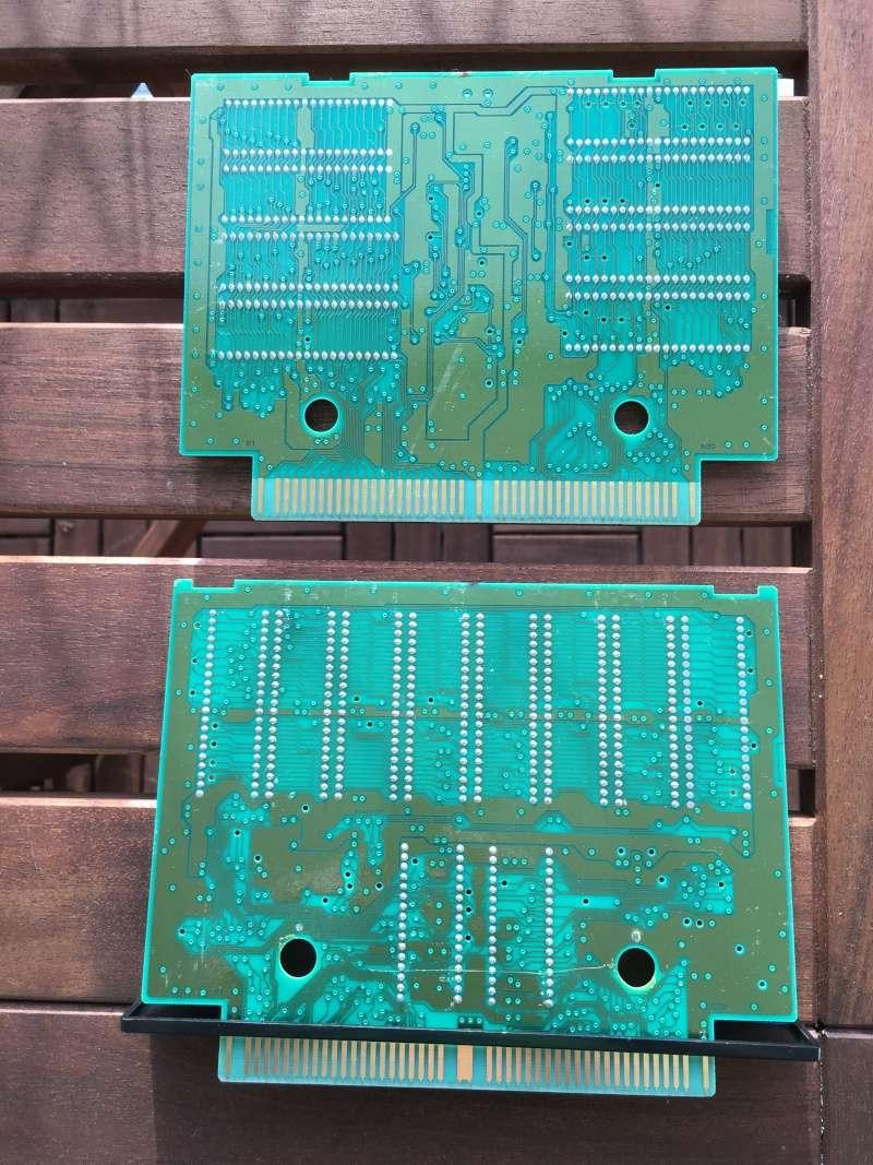 Photos plaques jeux AES Shock_11