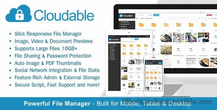 CodeCanyon - Cloudable v1.1 - File Hosting Script  Clouda10