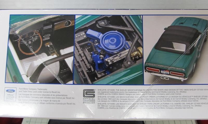 1969 Shelby GT 500 Convertible in 1 zu 25 von Revell Img_3826