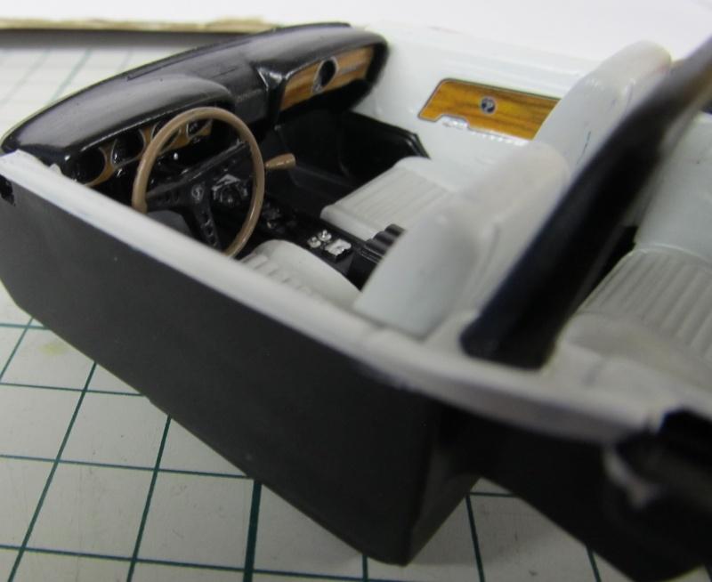 1969 Shelby GT 500 Convertible in 1 zu 25 von Revell - Baubericht Img_3839