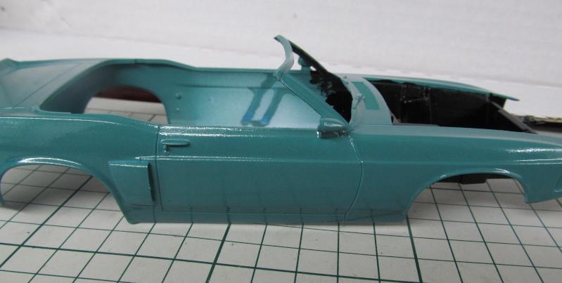 1969 Shelby GT 500 Convertible in 1 zu 25 von Revell - Baubericht Img_3842