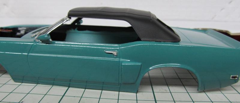 1969 Shelby GT 500 Convertible in 1 zu 25 von Revell - Baubericht Img_3843