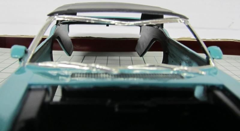 1969 Shelby GT 500 Convertible in 1 zu 25 von Revell - Baubericht Img_3844