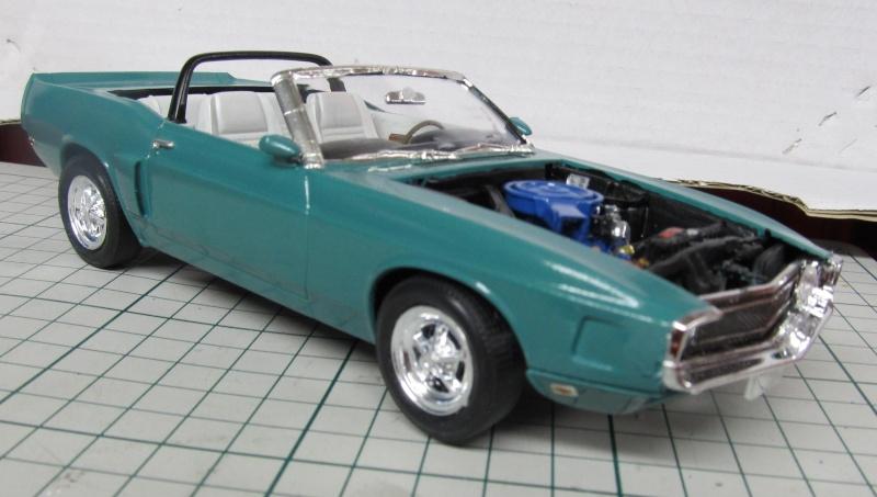 1969 Shelby GT 500 Convertible in 1 zu 25 von Revell - Baubericht Img_3852