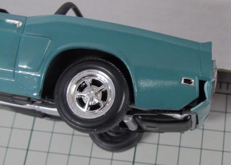 1969 Shelby GT 500 Convertible in 1 zu 25 von Revell - Baubericht Img_3853