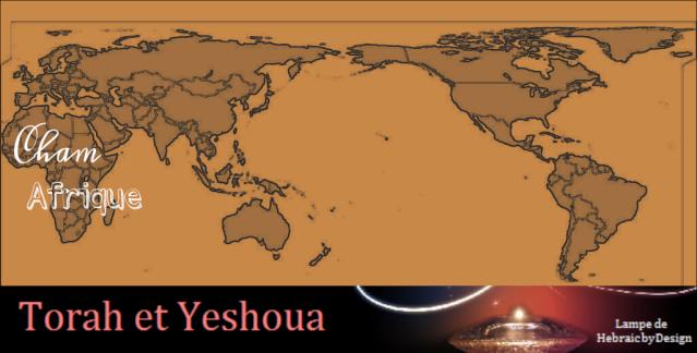 Les origines de l'humanité Sem Cham et Japhet 3 fils de Noah Cham10