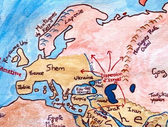 Les origines de l'humanité Sem Cham et Japhet 3 fils de Noah - Page 2 Europe10