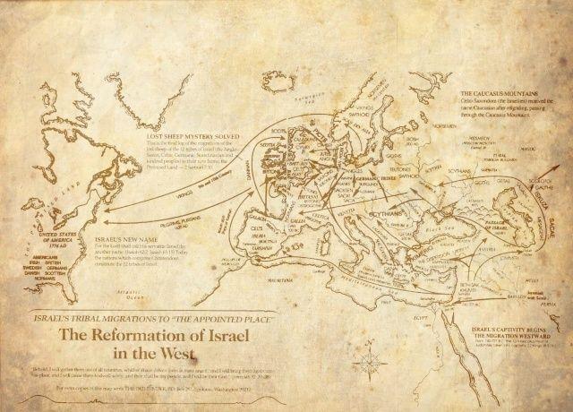 Les origines de l'humanité Sem Cham et Japhet 3 fils de Noah Migrat11