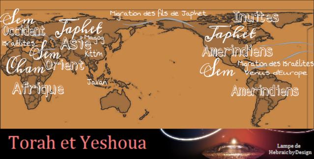 Les origines de l'humanité Sem Cham et Japhet 3 fils de Noah Sem11