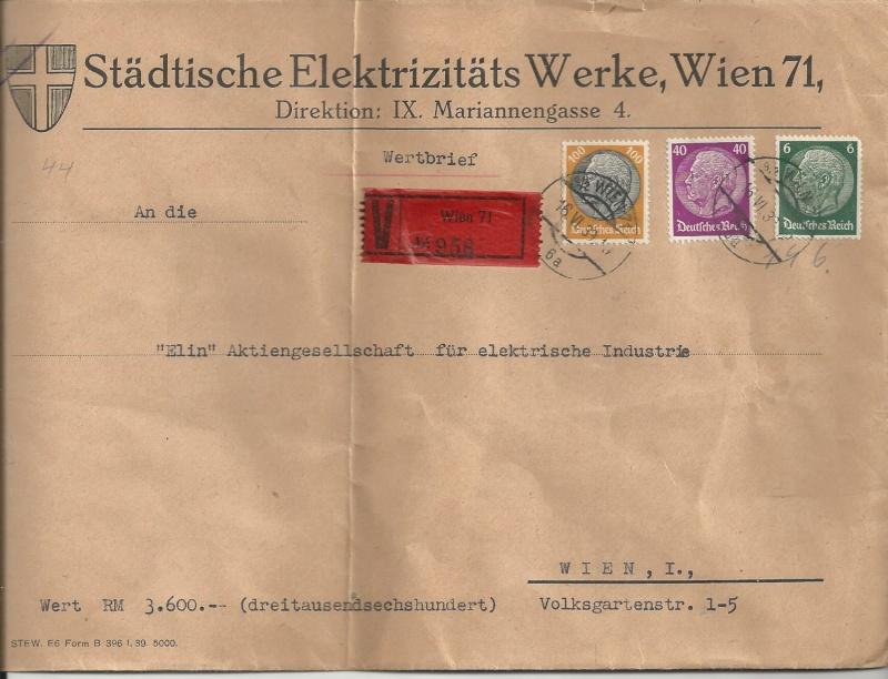 Österreich im III. Reich (Ostmark) Belege - Seite 7 Bild_214