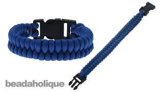 """Bracelet en paracorde dit """"de survie"""" 07-5-012"""