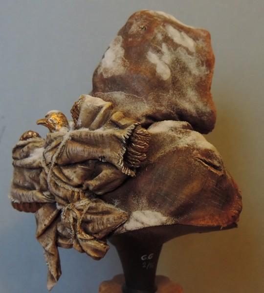 """Buste de légionnaire Romain """"Aquila""""... FINI ... Dscn2217"""