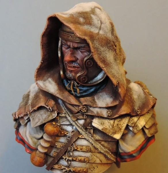 """Buste de légionnaire Romain """"Aquila""""... FINI ... Dscn2219"""
