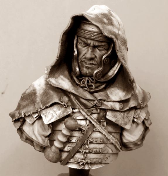 """Buste de légionnaire Romain """"Aquila""""... FINI ... Dscn2220"""