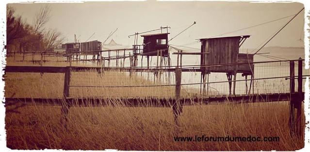 les cabanes de pêche vues par plusieurs photographes 13823310